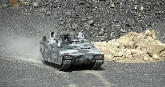 Технология «Формулы 1» на боевой машине